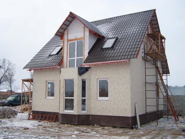 Фото строительства дачи